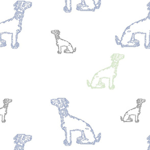 motifs Dogs 16in
