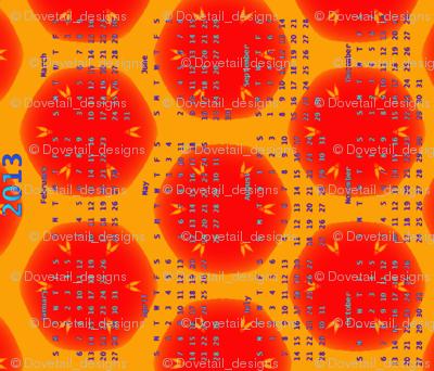 2013 Calendar - Busy Bees 5