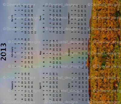 2013 Calendar - Ireland - Land of Rainbows