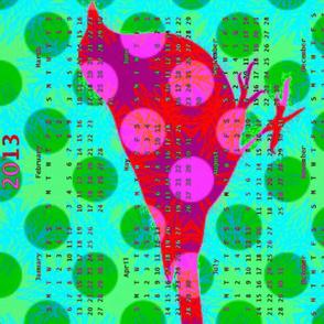 2013 Calendar - Birdsongs 1