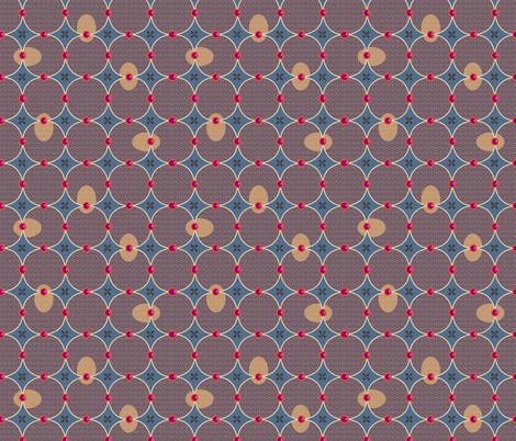 tweed vs jams fabric by melachmulik on Spoonflower - custom fabric