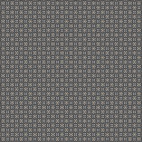 Floral Dot buff grey  © 2012 by Jane Walker