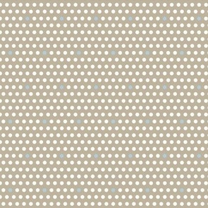 Woodland Dots Taupe