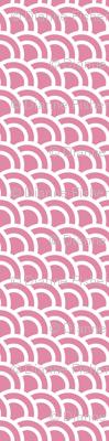 Double scales in rose - skewed
