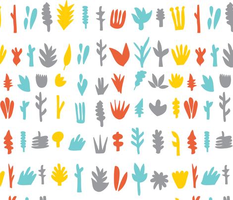 Plants-Pattern fabric by judykaufmann on Spoonflower - custom fabric