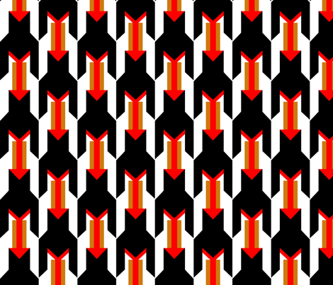 MOD_ARROW fabric by gamgirl45 on Spoonflower - custom fabric