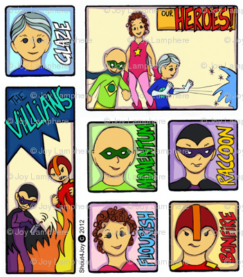 heroes and villians