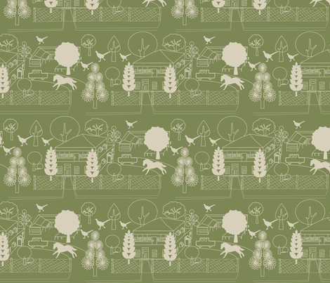 No. 46 Mosstone fabric by leeandallandesign on Spoonflower - custom fabric