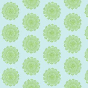 quilty doilies jade on sky