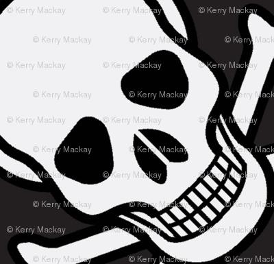 skulls on black-ed