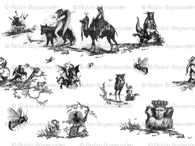 Demonology toile