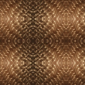 Brushed Copper Diamonds