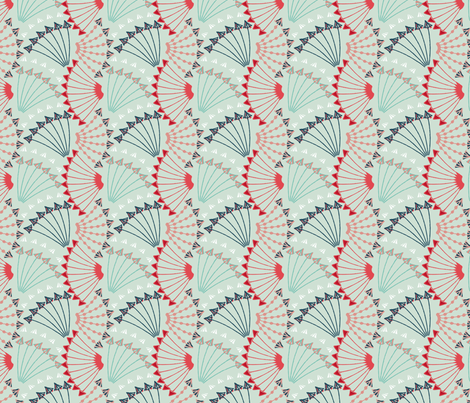 Arrows fabric by gillegg on Spoonflower - custom fabric
