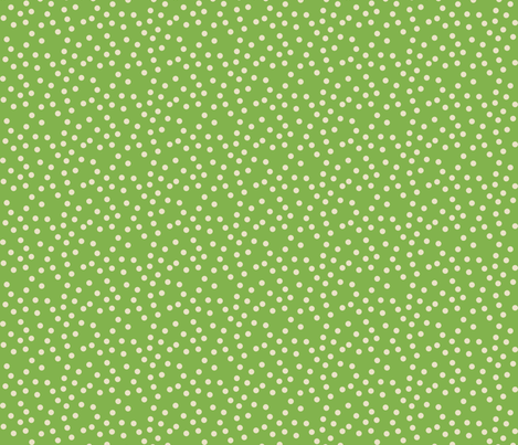SCATTERED_DOTS_GREEN fabric by natasha_k_ on Spoonflower - custom fabric
