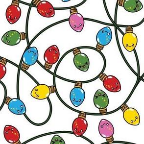 Kawaii Christmas Lights - Snow
