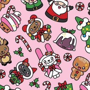 Kawaii Christmas Party -Bubble Gum