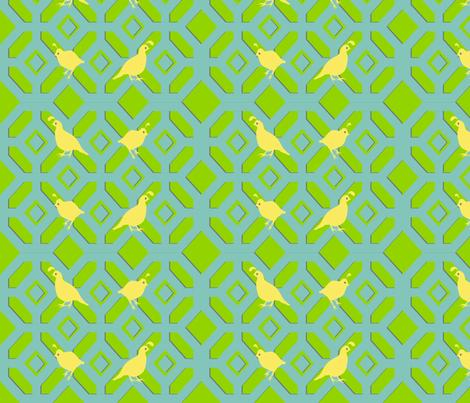 Tasteful Quail fabric by ninjaauntsdesigns on Spoonflower - custom fabric