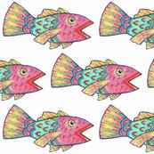 Singing Rainbow Fish