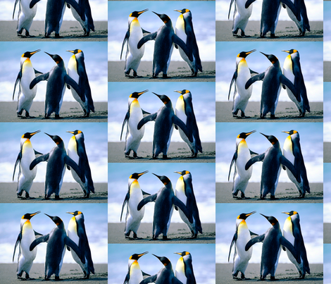 Penguins fabric by ivan_junges on Spoonflower - custom fabric