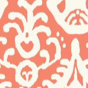 Coral Ikat (original colorway)