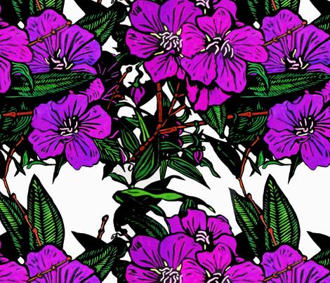 lassiandra Print for Bag(c)indigodaze2012 fabric by indigodaze on Spoonflower - custom fabric