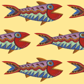 Zigzag Fanciful Fish