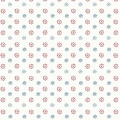 Inkblot Stars fabric by ragan on Spoonflower - custom fabric