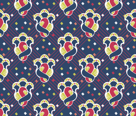 after_Matisse fabric by glimmericks on Spoonflower - custom fabric