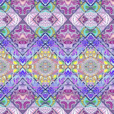 Atomic Honeysuckle Quartet fabric by edsel2084 on Spoonflower - custom fabric