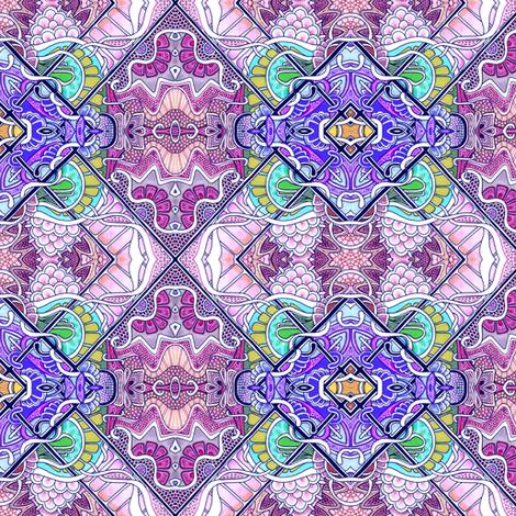 Tic Tac Tile fabric by edsel2084 on Spoonflower - custom fabric