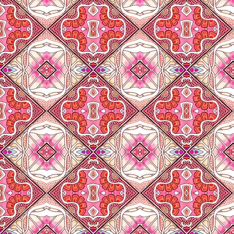 Argyle Flower fabric by edsel2084 on Spoonflower - custom fabric