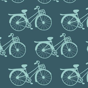 Fixie in Teal