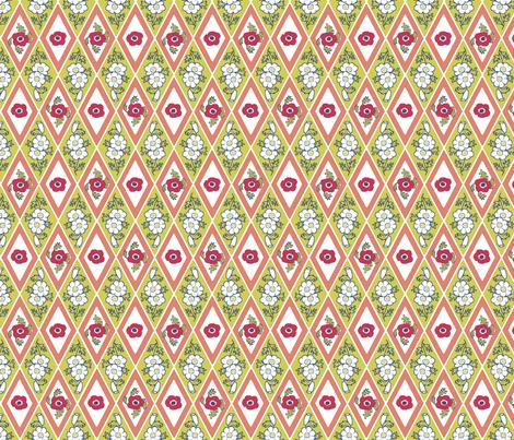 Anemone_Diamonds_B fabric by khowardquilts on Spoonflower - custom fabric