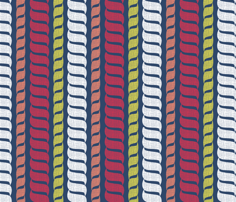 matisse_rope2 fabric by glimmericks on Spoonflower - custom fabric