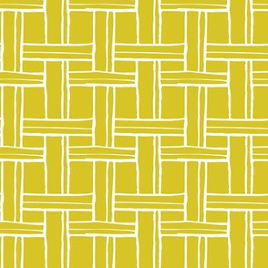 Basket Weave in Honey