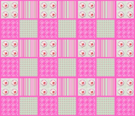 Begonia Coordinate fabric by koalalady on Spoonflower - custom fabric