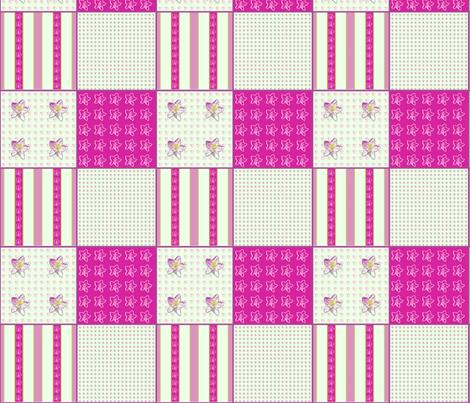 Campanula Coordinate fabric by koalalady on Spoonflower - custom fabric
