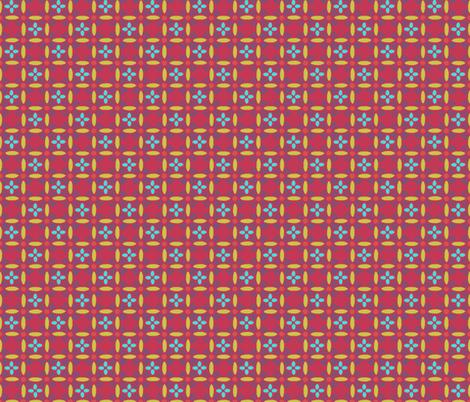 nest_eggmatisseredOchre fabric by atomic_bloom on Spoonflower - custom fabric