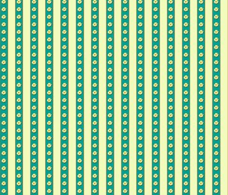 Dahlia Stripe fabric by koalalady on Spoonflower - custom fabric