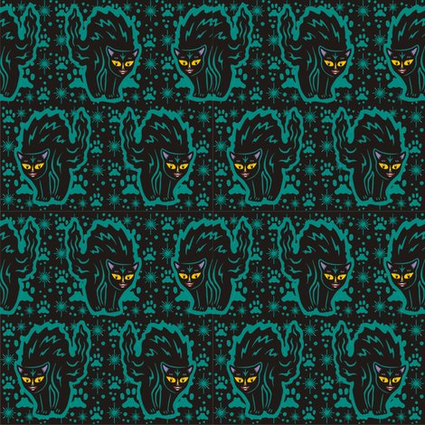 Rrblack_cat_in_teal_with_starbursts___pawprints_shop_preview