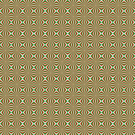 Yo-Yo Christmas Tree fabric by pd_frasure on Spoonflower - custom fabric