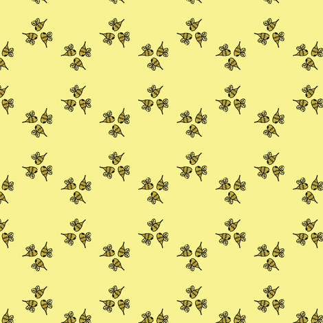 Swarmette fabric by nefernika on Spoonflower - custom fabric