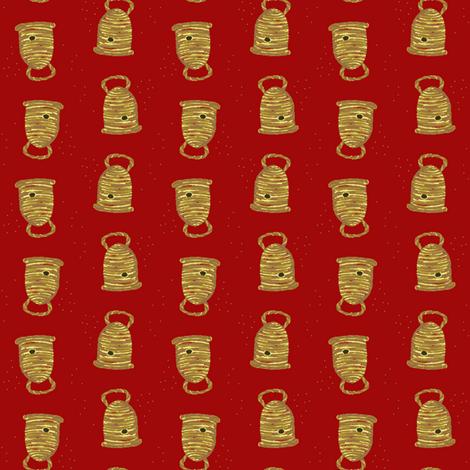 Skep fabric by nefernika on Spoonflower - custom fabric