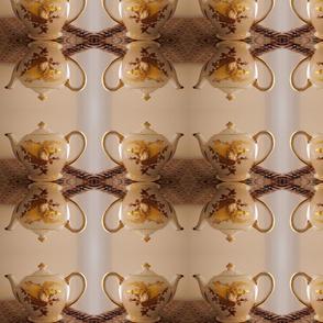 Golden Anniversary Teapot