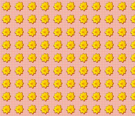 Coreopsis Pattern fabric by koalalady on Spoonflower - custom fabric