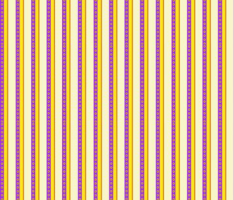 Sunflower Stripe fabric by koalalady on Spoonflower - custom fabric