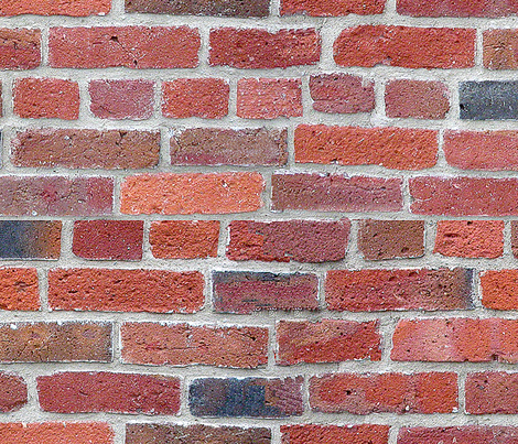 Old Brick Wall -biggest_ fabric by koalalady on Spoonflower - custom fabric