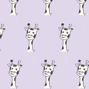 gerard the giraffe on lavender