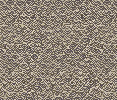 Grey arch fabric by feliciadavidsson on Spoonflower - custom fabric