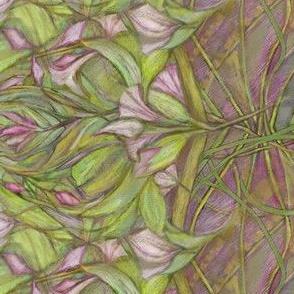 Purple Crocus Floral